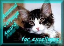 Aminius Catpage Award for excellence